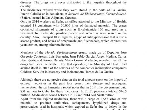 Medicines Expired and Hidden in Official Silence